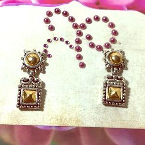 Bijoux Terner pierced new earrings gold & silver💗